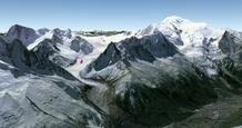 Glacier du Tacul